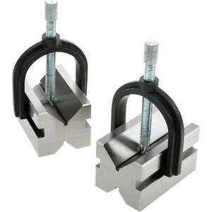 Grizzly H5611 V block Pair W Clamps 2 3 4
