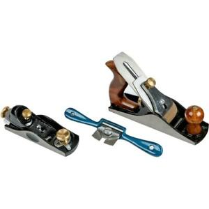 Grizzly H6243 3 Pc Woodworking Plane Set