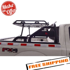 Black Horse Wrb 001bk Warrior Roll Bar With Cargo Basket For Trucks
