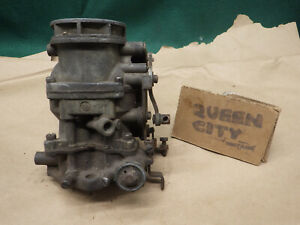 Flathead Ford y Block Ecg 5 1 1 16 Venturi 2bbl Carburetor V8 Holley