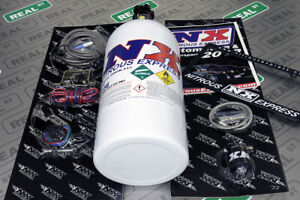 Nitrous Express Universal Dry Shot 35 150hp Efi Kit W 10lb Bottle Nx 21000 10