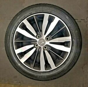 Honda Fit 2005 18 16 X6 Oem Factory Wheel Rim T5a16060a 64073 With A Tire