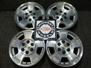 Silverado Tahoe Suburban 17 Wheels Aluminum Factory Oe 6 Lug Winter Set 88 18 E