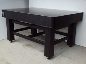 Crated Tmc Coherent Optical Table W Adjustable Rigid Leg Bench Breadboard