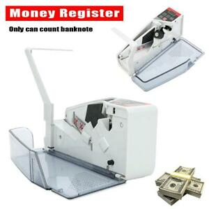 V40 Handheld Bill Cash Money Register Currency Counter Portable Counting Machine