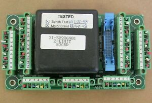 Pmc Z limit Circuit Board 31 50286n01 From Esi Pcb Drill
