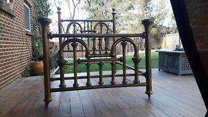 Antique Full Size Brass Bed