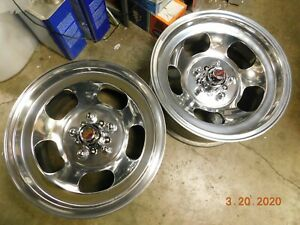 Just Polished 15x7 Western Slot Mag Wheels Ford Dodge Mags Mopar Chevelle Gto Ss