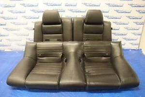2012 12 Ford Mustanhg Gt 5 0 V8 Coyote Oem Leather Rear Seats wear 1221