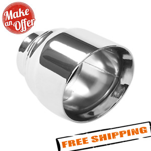 Magnaflow 35224 Polished Stainless Steel Weld on Single Exhaust Tip