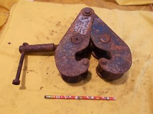 2 Ton Duff Norton I Beam Clamp Rigging Pulling Chain Hoist Mount Tool