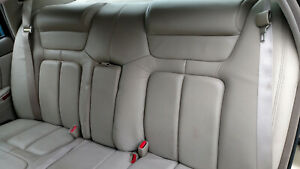 1998 Cadillac Deville Concours Rear Seats Tan Right Left