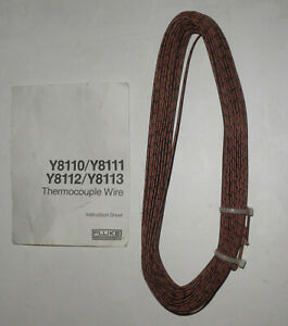 100 Feet Type J Thermocouple Wire Fluke Omega Y8110