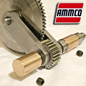 Ammco Friction Drive Bushings Gear Input Shaft For 7000 Brake Lathes 10326