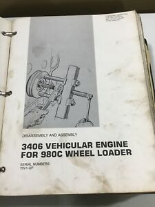 Cat 980c Wheel Loader Service Manual
