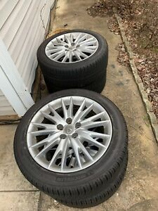 Lexus Gs350 Gs450 2013 18 Factory Oem Wheels And Tires Set Of 4