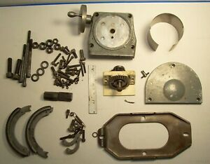 Bridgeport Mill Variable Speed Mill Parts 2j lot Of Misc Items