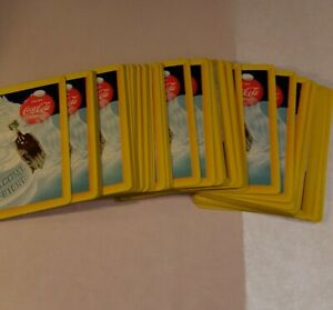 Coca Cola Playing Cards complete & with Box 2 Jokers included.