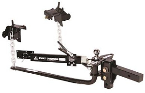 31997 Husky Towing Round Bar Weight Distribution Hitch W Sway Control