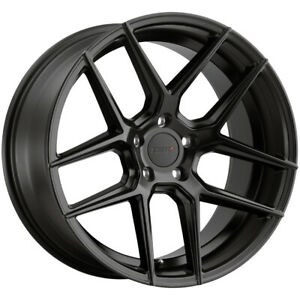 4 Tsw Tabac 19x8 5 5x120 35mm Satin Black Wheels Rims 19 Inch