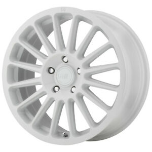 4 motegi Mr141 17x7 5 5x100 40mm White Wheels Rims 17 Inch