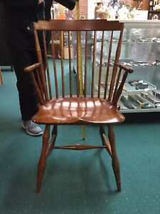 D R Dimes Furniture Step Back Windsor Chair Timeless Family Heirloom