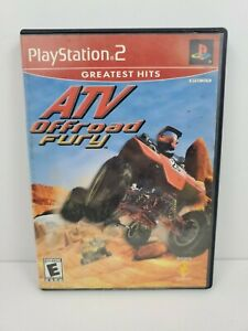 ATV Offroad Fury 2 (Sony PlayStation 2  2002) Greatest Hits No Manual Tested