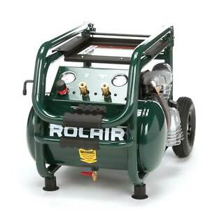 Rolair 5 3 Gallon Electric Wheeled Portable Compressor Tires Tools for Parts