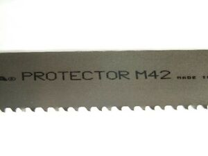 Box Of 5 Amada Protector Blade 15 X 1 1 2 X 4 6 Pitch For Amada 400 Saws