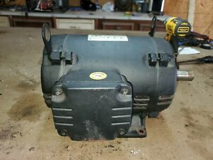 7 5 Hp 184t 3 Phase Weg Electric Motor Air Compressor 3515 Rpm 208 230