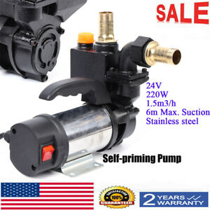 220w Jet Water Pupm Pressure Booster Water Jet Stainless Pump Self priming 24v
