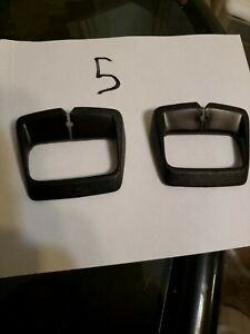 Nos 1973 1981 Gm Seat Belt Loop Guide Set Black Gm 1708118 Monte Carlo G Bodies