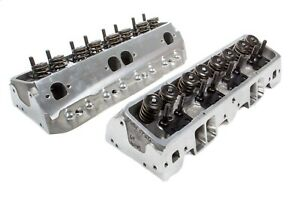 Brodix Ds 225 Aluminum Cylinder Head Sbc 2 Pc P n 1321003