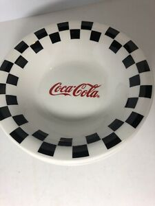 Set of 4 Vintage 1996 Coca Cola Dinnerware Bowls by Gibson