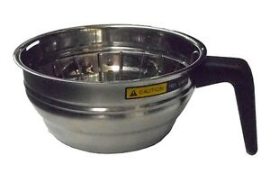 Bunn 20216 0000 Brew Funnel Stainless Steel Replacement Brewbasket 7 12 D