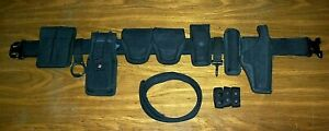 Bianchi Accumold Police Nylon Duty Rig Belt Complete Sig P220 Holster Galls 372