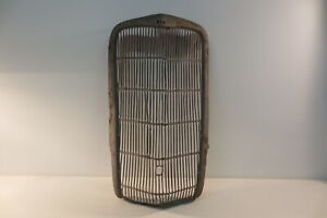 Original 1935 35 Ford Coupe Grille Grill Shell Radiator Housing Surround Trim