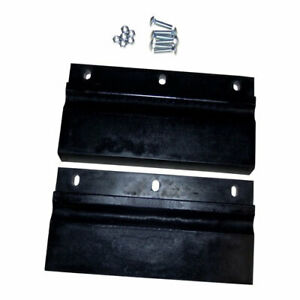 Western Plow Part 50626 Poly Urethane Cutting Edge Assembly Kit