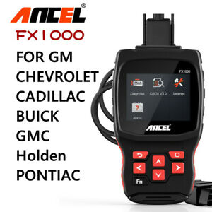 For Gm Chevrolet Cadillac Buick Code Reader Autek Abs Sas Tpms Car Scanner Tool