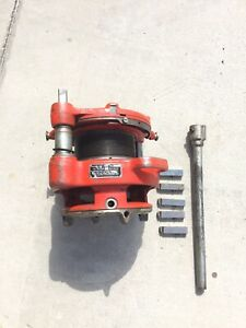 Ridgid 161 Receding Geared Threader Pipe Threading Machine 4 6
