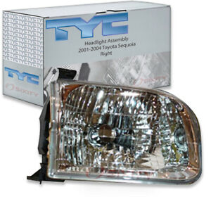 Tyc Right Headlight Assembly For 2001 2004 Toyota Sequoia Ip