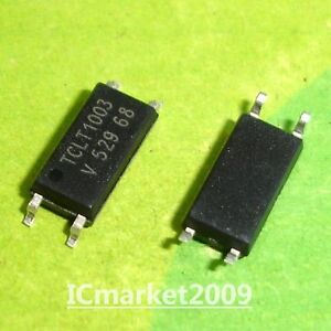 10 Pcs Tclt1003 Sop 4 Tclt 1003 Smd 4 Optocoupler With Phototransistor Output