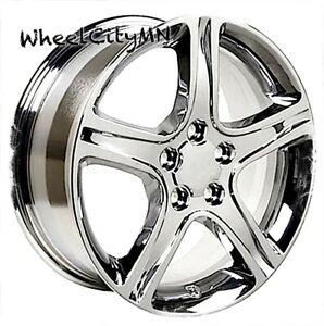 17 Inch Chrome Fits Lexus Rx Oe Replica Wheels 5x4 5 Fits Toyota Avalon Camry