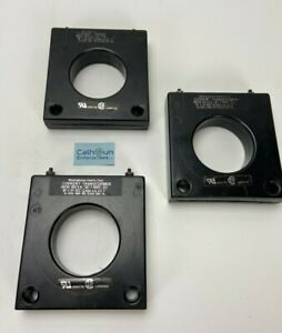 lot Of 3 Westinghouse Current Transformer 7 Asht 301 300 5a Rf 1 33 Acc