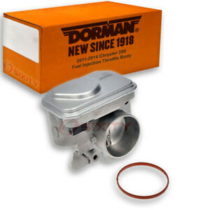 Dorman Fuel Injection Throttle Body For Chrysler 200 2011 2014 2 4l L4 Tbi Gd
