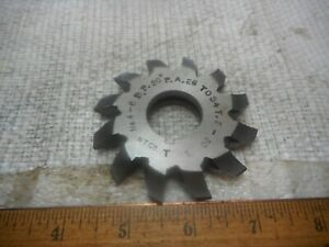 National No 4 6dp 26 34t 20 Deg Pa Involute Gear Cutters Hss