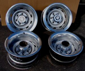 Chevy Gmc Truck 1 2 Ton 15 X 8 6 Lug 4x4 Rally Wheel s Set Dab