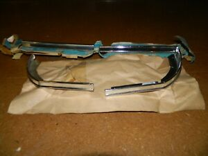 Nos 1974 Chevrolet Impala Front End Moldings Around Lamp Lh Rh 4 Pieces Total