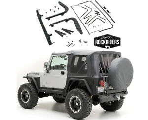 Complete Soft Top Kit With Oe Style Mounting Brackets 1997 2006 Jeep Wrangler