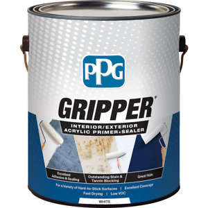 White Acrylic Primer Sealer Interior Exterior Paint Ppg Gripper Strong Adhesion